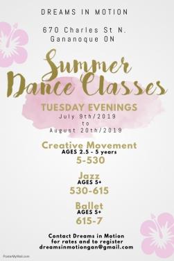 Summer Rec Class 2019