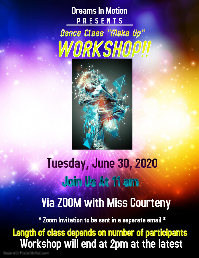 Dance Workshop 2020